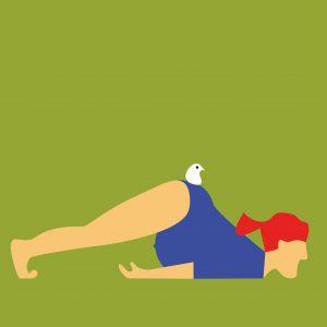 zwanger, preggo, illustratie